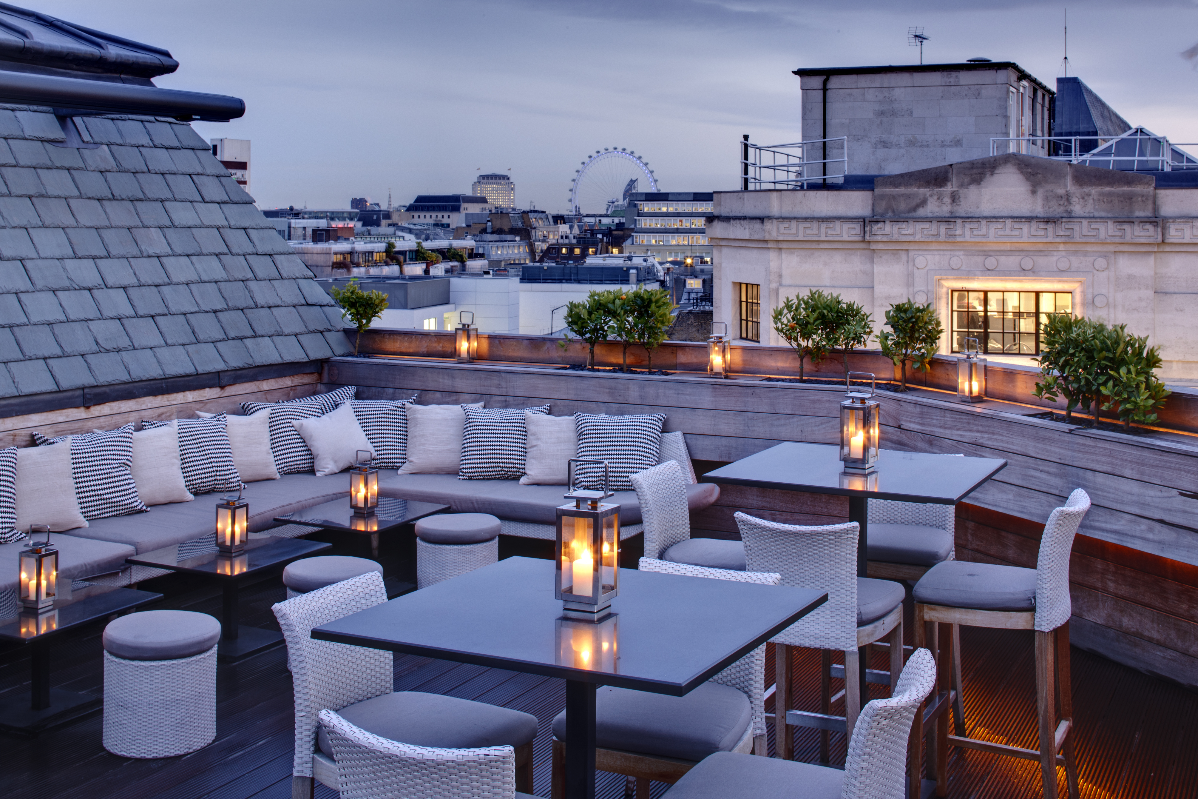 Terraces faq the down low on the high up aqua london for Terraces opening times