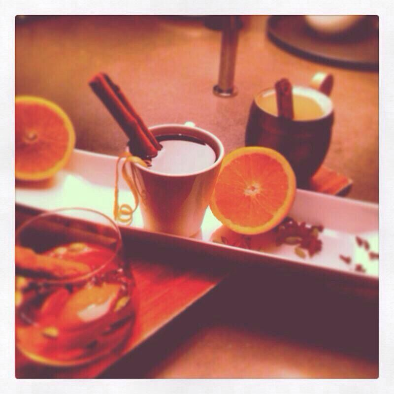Keep warm on the terraces with our hot toddy!