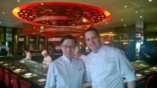 Iwahashi Tatsuya and Paul Greening in aqua kyoto