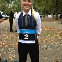 Hattie - so nearly a winner!