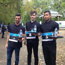 Javier, Miguel and Rajesh from aqua london