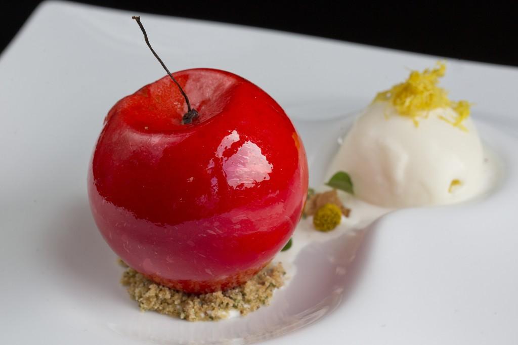 Paul Greening's Fuji Apple dessert