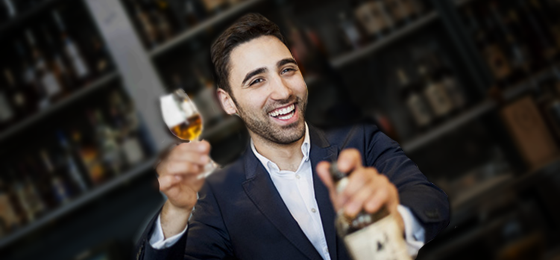New bar manager Luca Missaglia