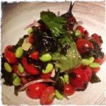 aqua kyoto tomato & edamame salad by @jbllee