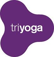 Triyoga logo whiteout